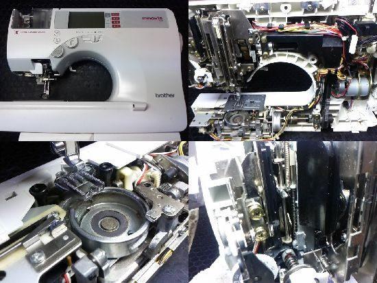 ブラザーイノヴィスN80のミシン修理
