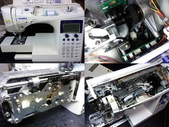JUKIエクシードHZL-F600JPのミシン修理