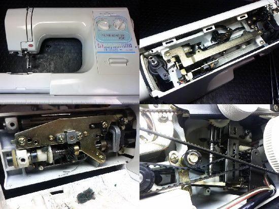 ジャノメホームレザー100のミシン修理
