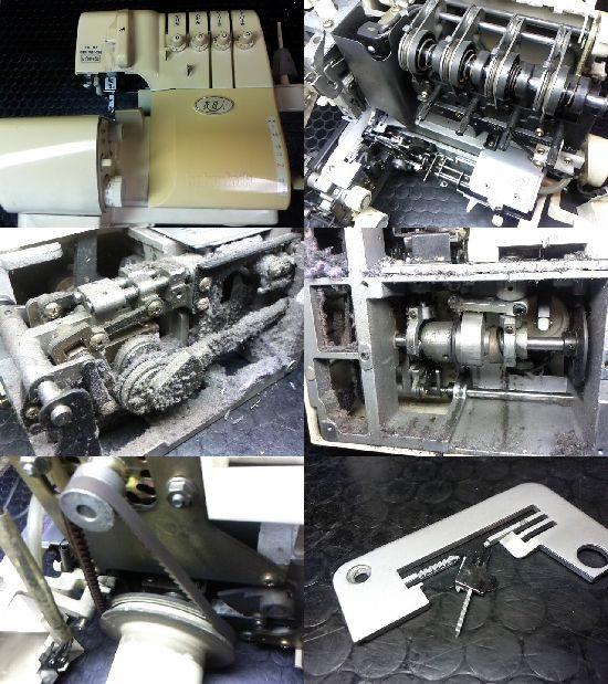 ベビーロック衣縫人のミシン修理