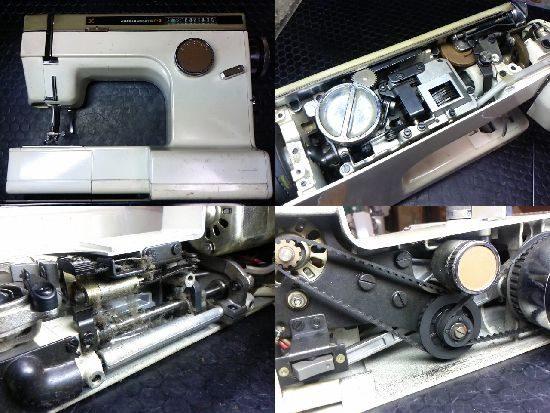 JAGUAR MATE F-3のミシン修理