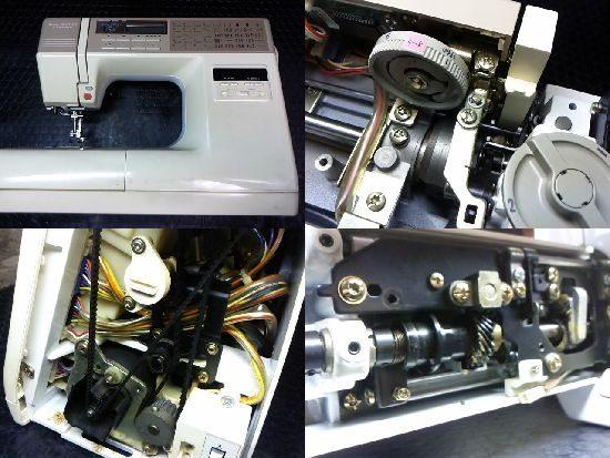 ジャノメセンサークラフト7500のミシン修理