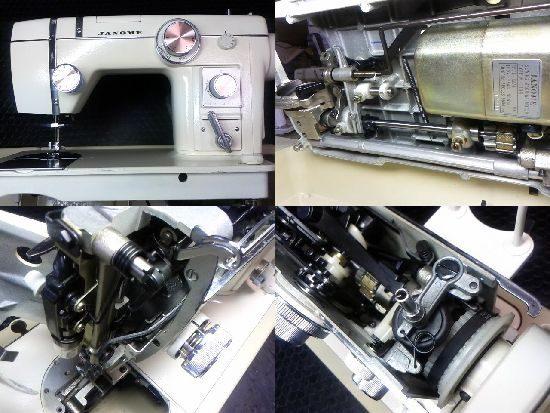 JANOMEトピア802のミシン修理