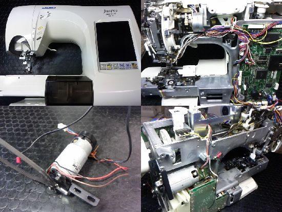 JUKIジュレーブのミシン修理