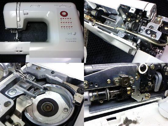 ジャノメ751型のミシン修理
