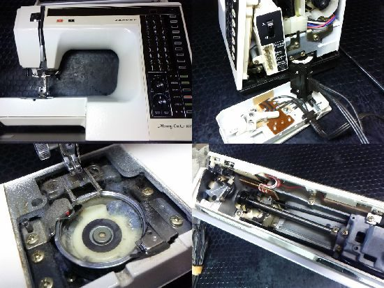 メモリークラフト6000のミシン修理