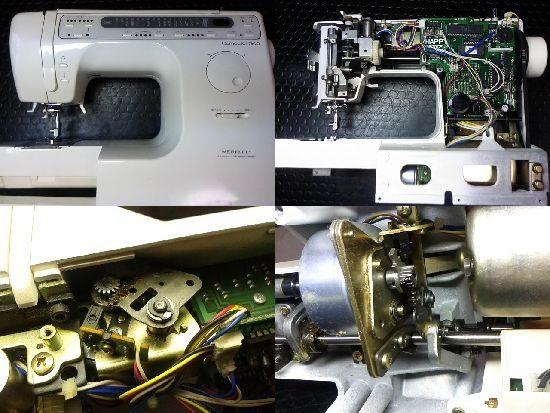 SINGER7800のミシン修理
