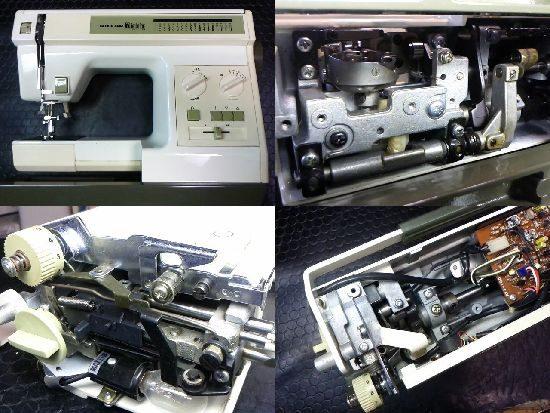 RICCAR MightyB3のミシン修理