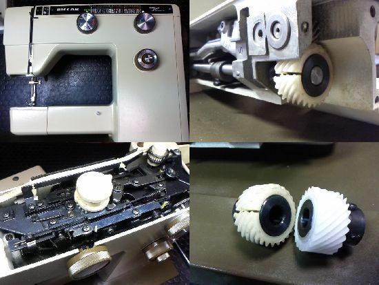 リッカーR-808のミシン修理