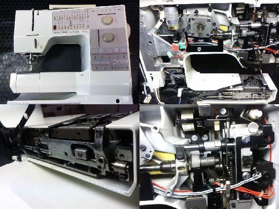 リッカーRCM1230のミシン修理