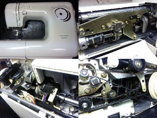 ジャノメS6050のミシン修理