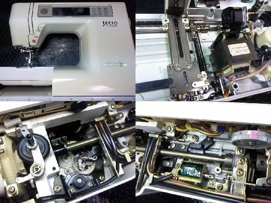 ジャノメセシオ8300のミシン修理