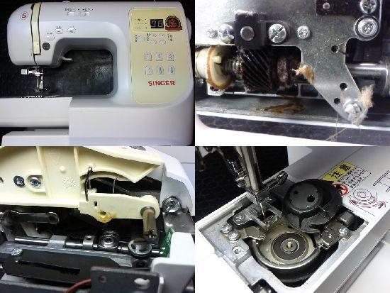 シンガーSN777のミシン修理
