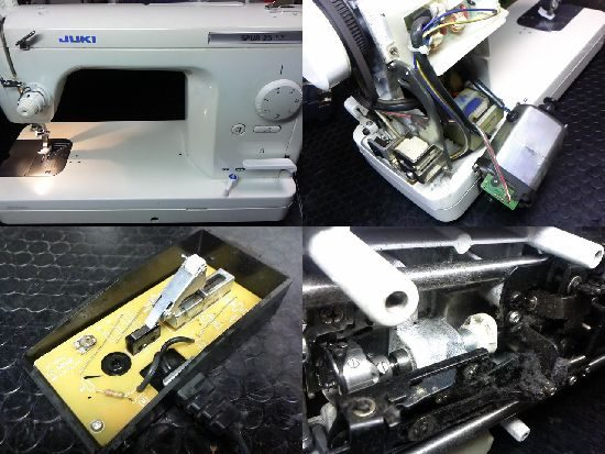 JUKIシュプール25SXのミシン修理