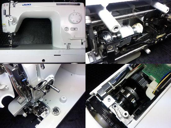 シュプール30デラックスのJUKIミシン修理