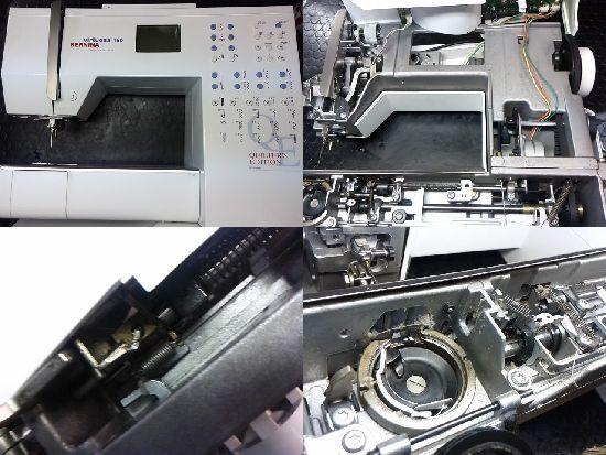 BERNINA virtuosa150のミシン修理