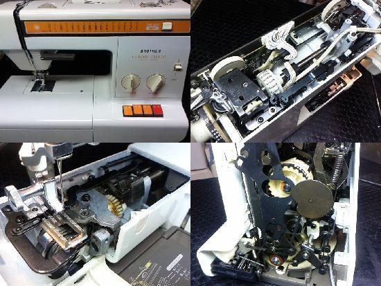 Brotherコンパルデラックスのミシン修理