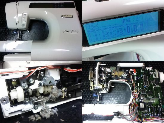 ブラザーミモレ‐Lのミシン修理