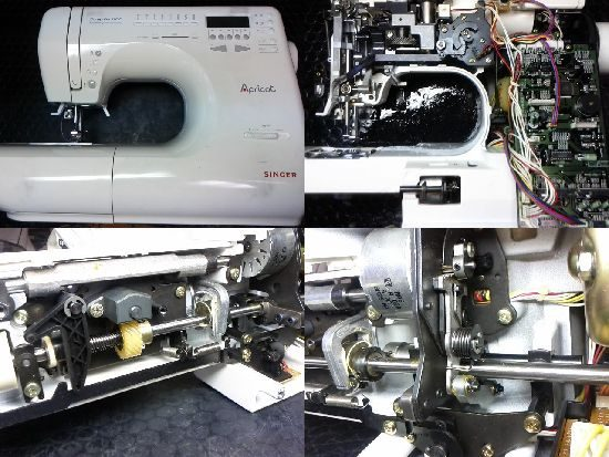 アプリコット9700のミシン修理