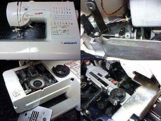 ジャガーCC-1101のミシン修理