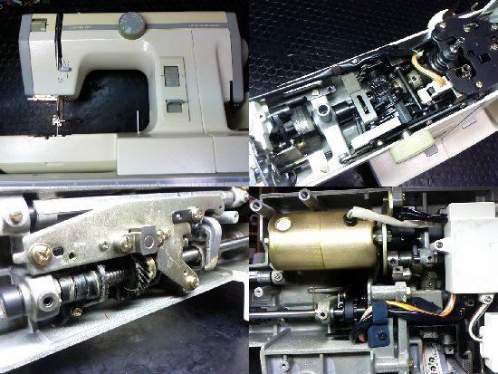 ジャノメコンビDX2000のミシン修理
