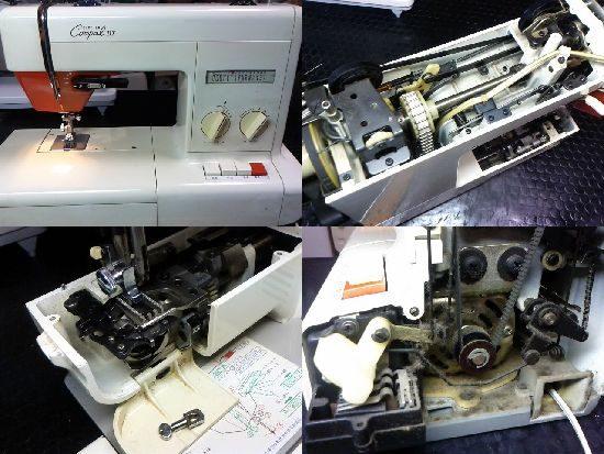 ブラザーCompalDXのミシン修理