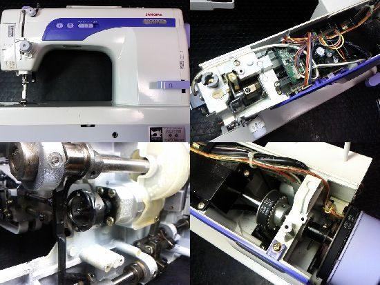 ジャノメ767DBのミシン修理