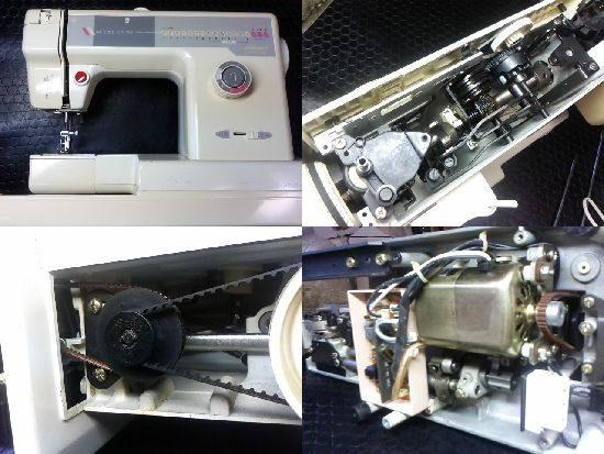 ジャガーEX-130のミシン修理