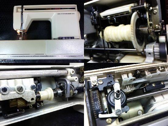 ジャノメEXCEL20のミシン修理