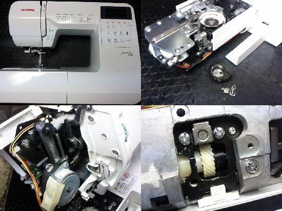 JF780のジャノメミシン修理