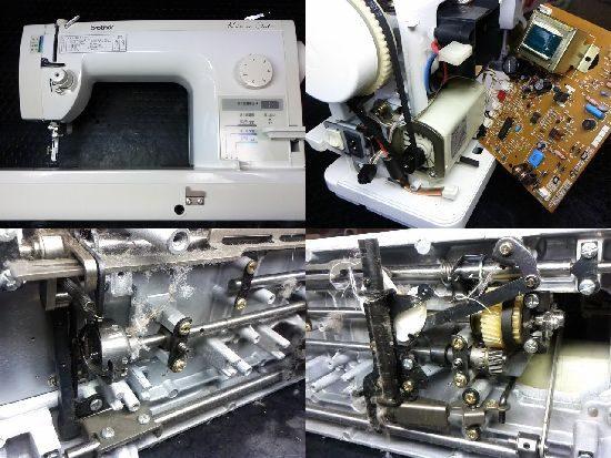 ブラザーTA631のミシン修理
