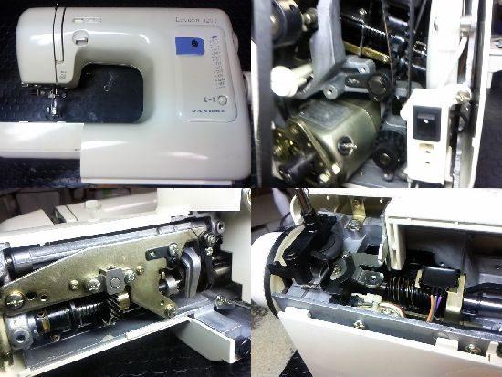 ジャノメLavieen4200のミシン修理