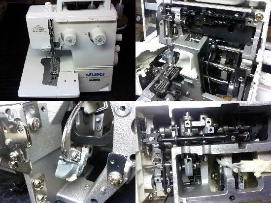 JUKJIカバーステッチMCS-900のミシン修理