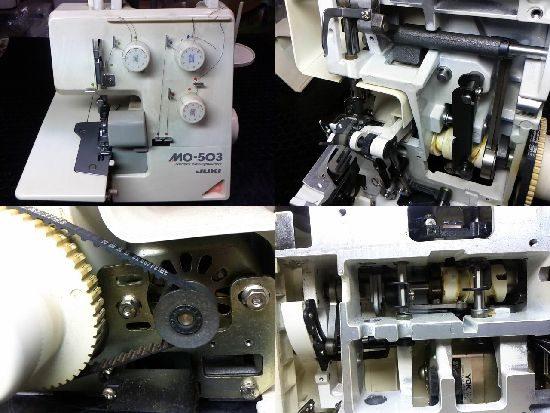 JUKI MO-503 のロックミシン修理