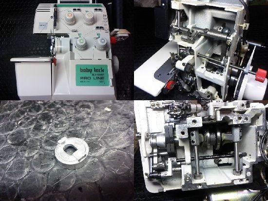 ベビーロックBL4-838DFのミシン修理