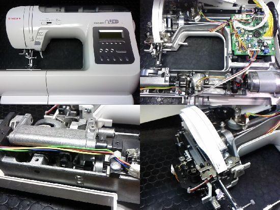 シンガーSC-200のミシン修理