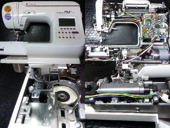 シンガーSC-317のミシン修理