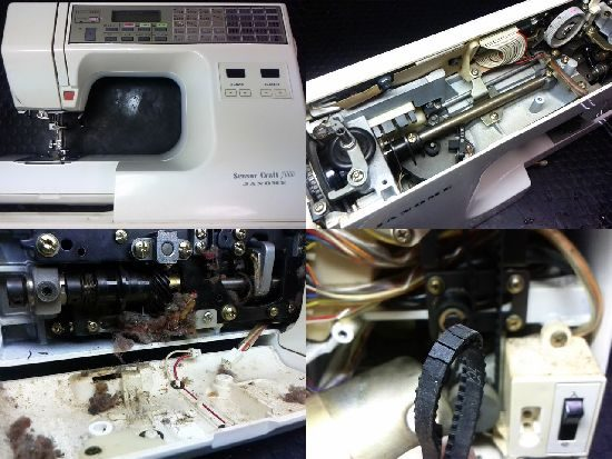 SensorCraft7000のミシン修理