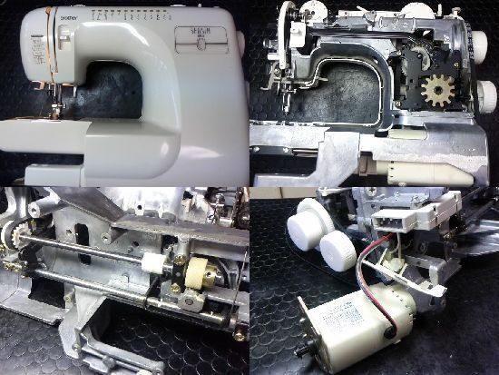 ブラザーSENSIA660のミシン修理