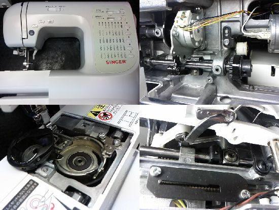 シンガーSN771のミシン修理