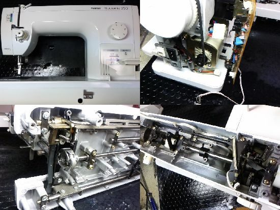 ブラザーヌーベル250のミシン修理
