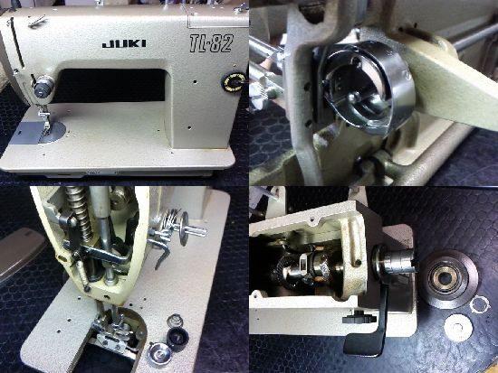 JUKI TL-82のミシン修理