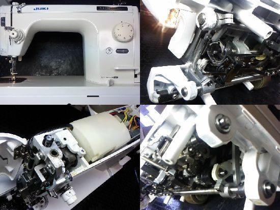 JUKI SPUR98Deluxeのミシン修理