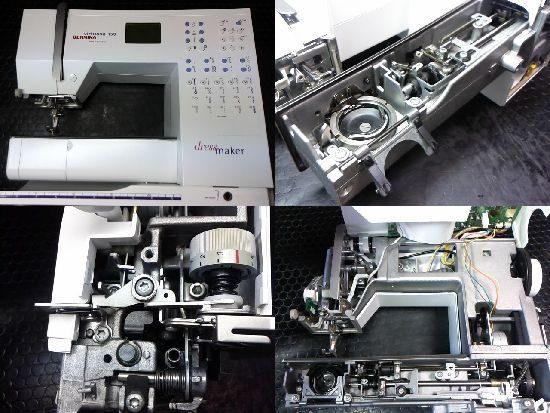 ベルニナビルティオーゾ153のミシン修理