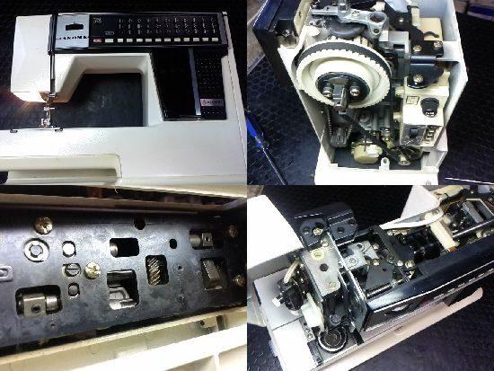 メモリア5001のミシン修理