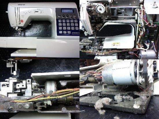 アデッソ2のブラザーミシン修理