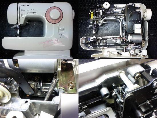 ブラザーミシン修理AM-21(EL130)