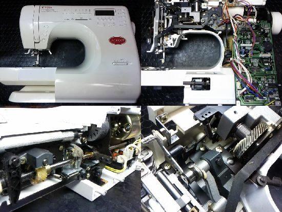 アプリコット9780のシンガーミシン修理