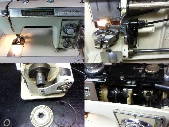 ブラザーペースセッターZZ2-B710Fのミシン修理