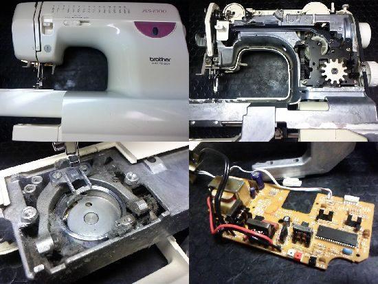 ブラザーミシン修理BS-1000